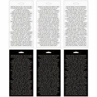Tim Holtz - Idea-ology Collection - Stickers - Chitchat Word