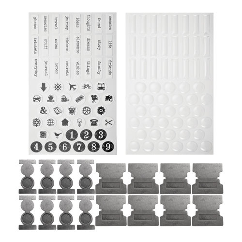 Tim Holtz - Idea-ology Collection - File Tabs