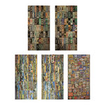 Tim Holtz - Idea-ology Collection - Salvage Stickers - Destinations