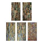 Tim Holtz - Idea-ology Collection - Salvage Stickers - Destinations