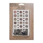 Tim Holtz - Idea-ology Collection - Custom Fasteners