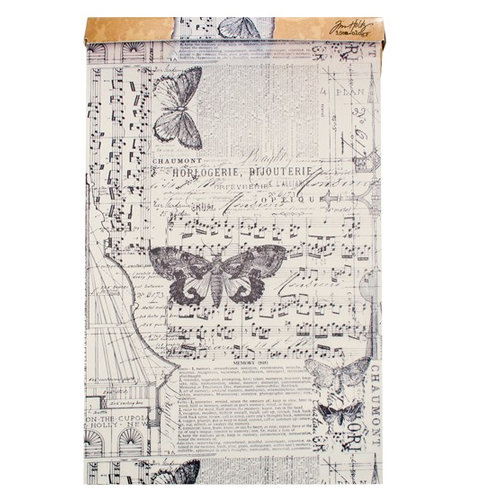 Tim Holtz - District Market Collection - Idea-ology - Tissue Wrap Paper - Melange