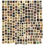 Tim Holtz - Idea-ology Collection - Chipboard Alphabet Tiles