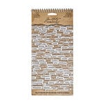 Tim Holtz - Idea-ology Collection - Christmas - Stickers - Chitchat Word - Seasonal