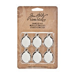 Tim Holtz - Idea-ology Collection - Enameled Tags