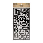 Tim Holtz - Idea-ology Collection - Alpha Parts - Numeric