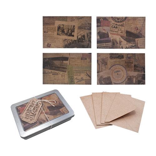 Tim Holtz - District Market Collection - Idea-ology - Notecard Set - Destinations