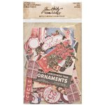Advantus - Tim Holtz - Idea-ology Collection - Ephemera Pack - Christmas
