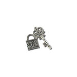 Bottle Cap Inc - Vintage Edition Collection - Jewelry - Charms - Lock and Key