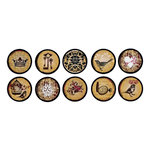 Bottle Cap  Inc - Vintage Edition Collection - Bottle Cap Images - Amber Romance - 1 Inch
