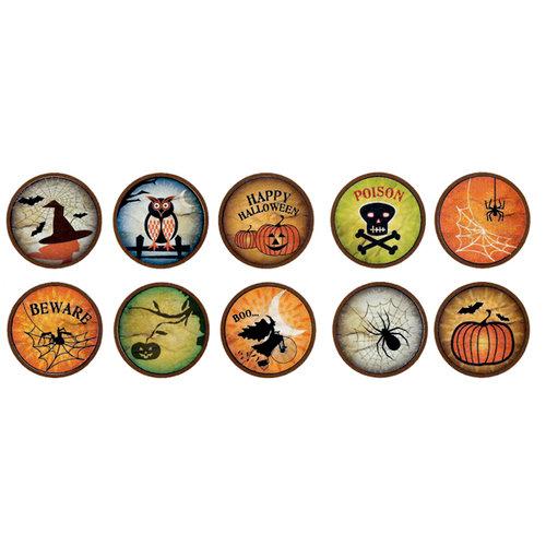 Bottle Cap Inc - Vintage Edition Collection - Bottle Cap Images - Halloween Craze - 1 Inch