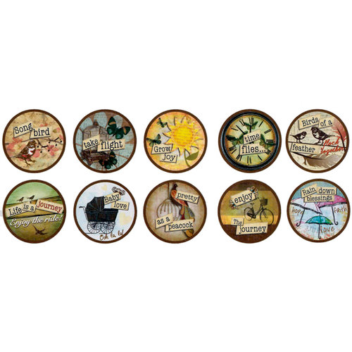 Bottle Cap Inc - Vintage Edition Collection - Bottle Cap Images - Nostalgic Icons - 1 Inch