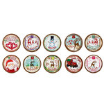Bottle Cap  Inc - Vintage Edition Collection - Bottle Cap Images - Christmas Express - 1 Inch