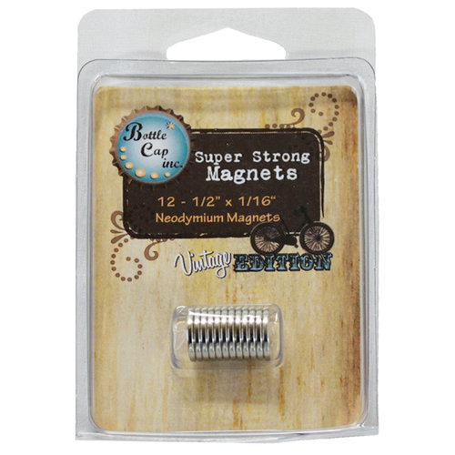 Bottle Cap Inc - Vintage Edition Collection - Magnets - .5 Inch