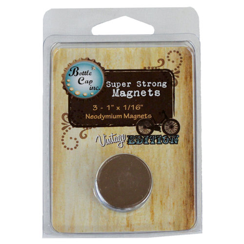 Bottle Cap  Inc - Vintage Edition Collection - Magnets - 1 Inch
