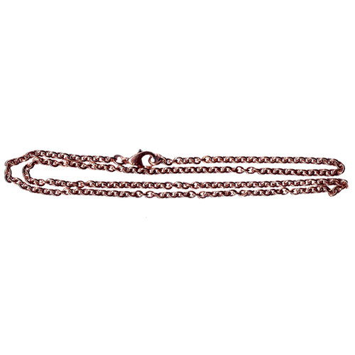 Bottle Cap  Inc - Vintage Edition Collection - Jewelry Necklace - Chain - Antique Copper - 2.5 mm