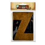 Bottle Cap Inc - Vintage Edition Collection - Altered Art - Large Letter Press Block - Z