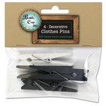 Bottle Cap Inc - Home Decor Essentials - Clothes Pins - 6mm