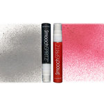 Smooch - Spritz - Pearlized Accent Ink - 2 Pack - Silver Foil and Cherry Ice