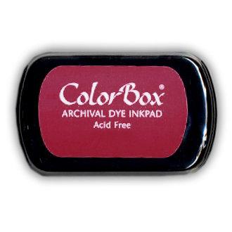 ColorBox - Archival Dye Inkpad - Dark Cherry