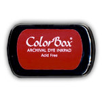 ColorBox - Archival Dye Inkpad - Red Devil