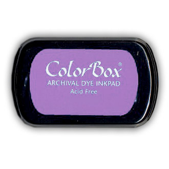 ColorBox - Archival Dye Inkpad - Grape Slushy