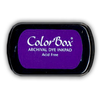 ColorBox - Archival Dye Inkpad - Deep Grape