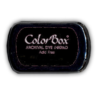Colorbox Wicked Black Dye Ink Pad