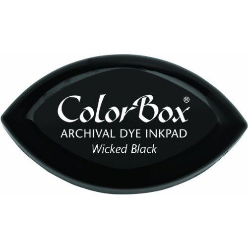 ColorBox - Cat's Eye - Archival Dye Inkpad - Wicked Black