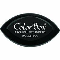 ColorBox - Cat's Eye - Archival Dye Inkpad - Wicked Black
