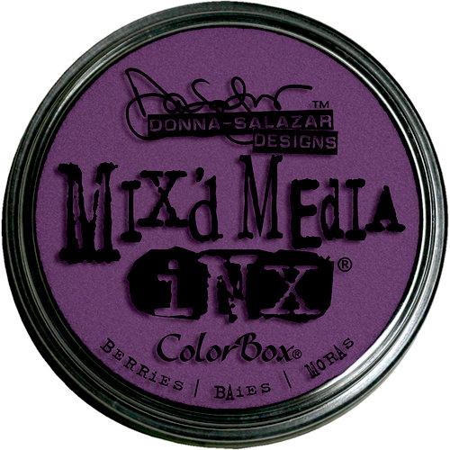 Clearsnap - Donna Salazar - Mixd Media Inx - Berries