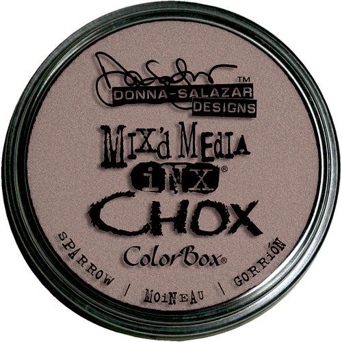 Clearsnap - Donna Salazar - Mixd Media Inx - CHOX - Sparrow
