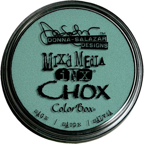 Clearsnap - Donna Salazar - Mixd Media Inx - CHOX - Sage