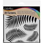 ColorBox - Art Screens - 6 x 6 Stencil - Tropical