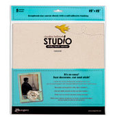 Ranger Ink - Studio by Claudine Hellmuth - Stick-Back Canvas - Natural - 12 x 12