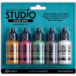 Ranger Ink - Studio by Claudine Hellmuth - Paint Kit - Metropolitan