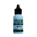Ranger Ink - Studio by Claudine Hellmuth - Semi-Gloss Acrylic Paint - Sky Blue - .5 ounces