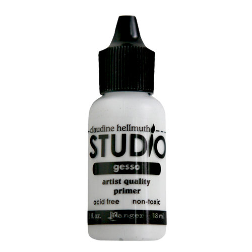 Ranger Ink - Studio by Claudine Hellmuth - Multi-Medium - Gesso - .5 ounces