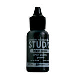 Ranger Ink - Studio by Claudine Hellmuth - Multi-Medium - Black Gesso - .5 ounces