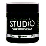 Ranger Ink - Studio by Claudine Hellmuth - Semi-Gloss Acrylic Paint - Charcoal Black