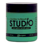 Ranger Ink - Studio by Claudine Hellmuth - Semi-Gloss Acrylic Paint - Classic Teal