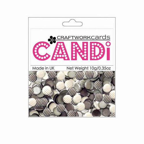 Craftwork Cards - Candi - Shimmer Paper Dots - Saville Row