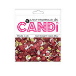 Craftwork Cards - Candi - Metallic and Shimmer Paper Dots - China Town