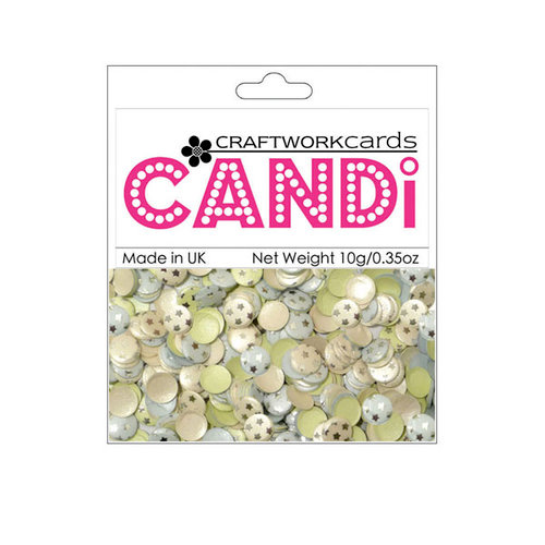 Craftwork Cards - Candi - Shimmer Paper Dots - Nightingale Square