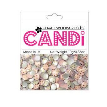 Craftwork Cards - Candi - Shimmer Paper Dots - Notting Hill