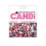 Craftwork Cards - Candi - Shimmer Paper Dots - Britannia