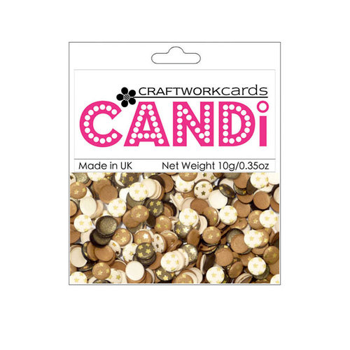 Craftwork Cards - Candi - Shimmer Paper Dots - Westminster