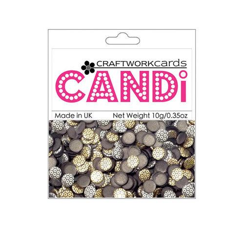 Craftwork Cards - Candi - Metallic Paper Dots - Bronze