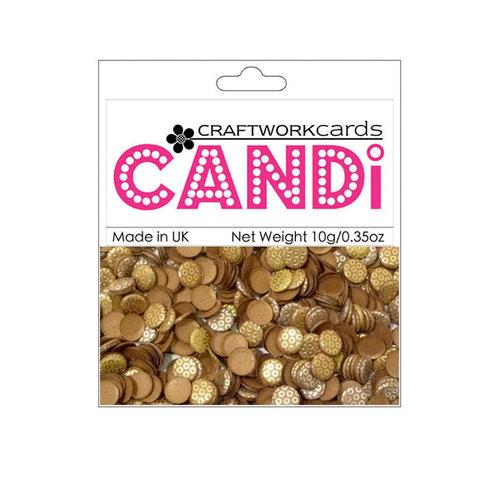 Craftwork Cards - Candi - Metallic Paper Dots - Copper