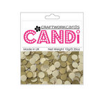 Craftwork Cards - Candi - Texture Paper Dots - Gold